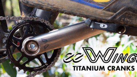 eeWings Titanium cranks