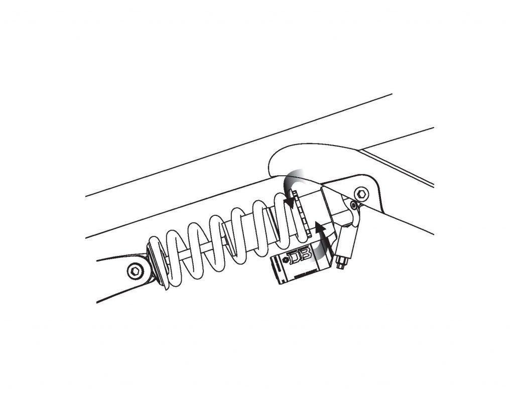 Preload adjust Coil CS shock