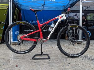 Cane Creek HELM Works Series 130 on a Rocky Mountain Element bike