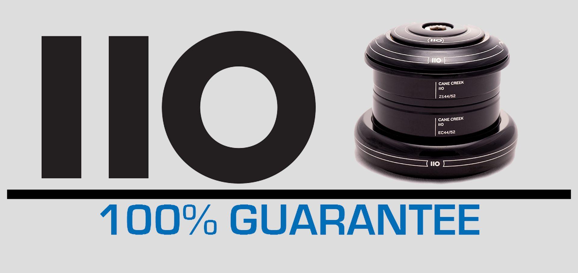 110 Guarantee