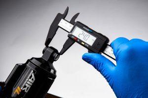 measuring shock hardware width