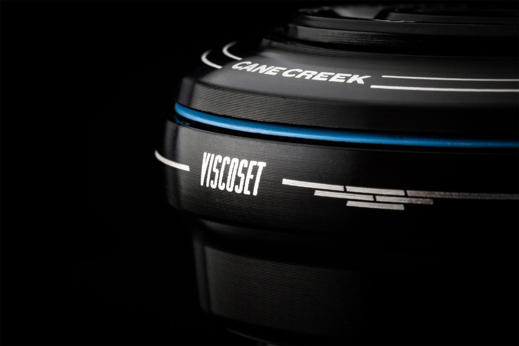Viscoset damping headset for bicycles