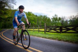 Man riding litespeed with eeSilk