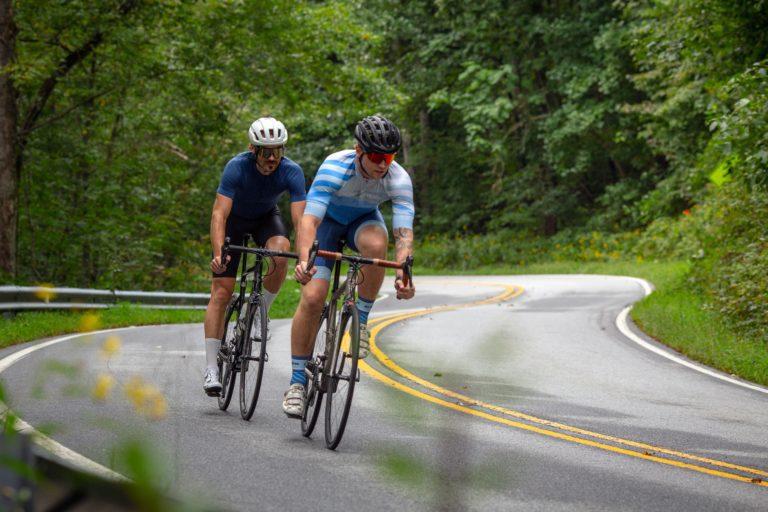 Road Riders Descending