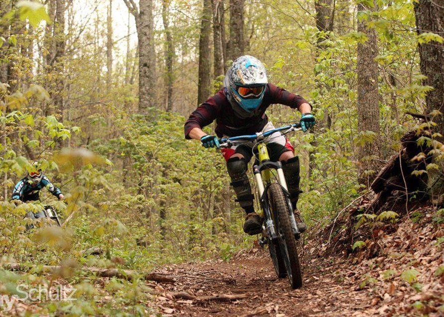Sam Riding Bikes