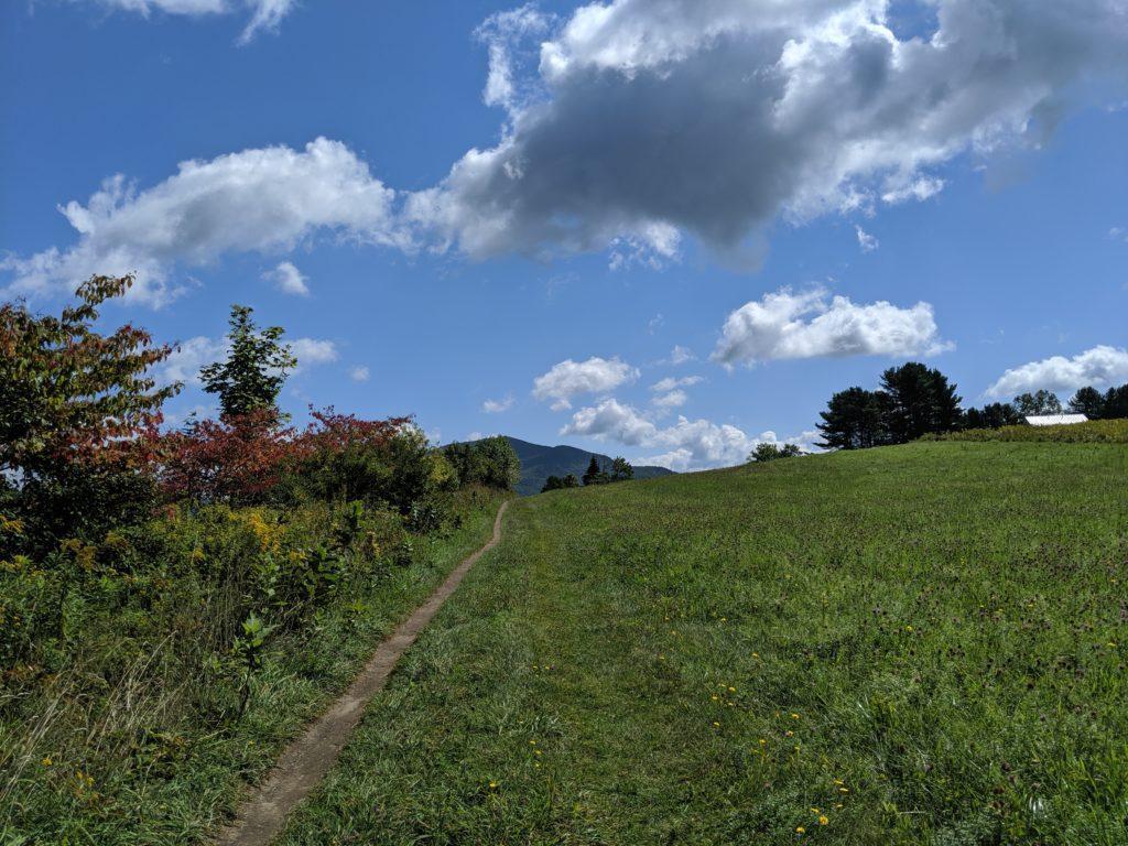 Blue Skys, Green hills, riding bikes makes life better